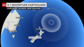 Tsunami watch in Hawaii following significant earthquake in Pacific
