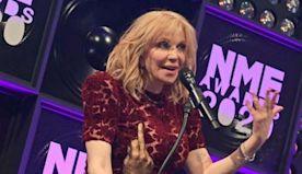 Courtney Love celebrates sobriety at NME Awards 2020