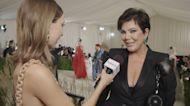 "Kris Jenner Gives Emma ""Mom Energy"" For Her First Met"