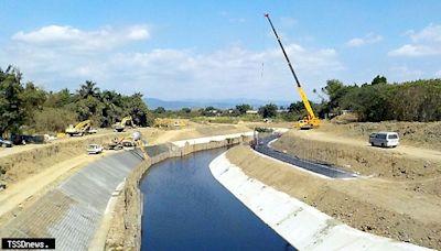 龜子港排水系統整治 提高沿岸防洪標準