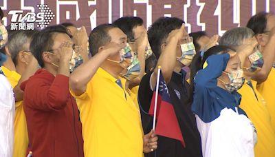 市長國慶許願 侯友宜:不忘初心、捍衛國家