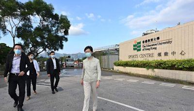 (突發)行政長官林鄭月娥昨晚(10月18日)禮賓府跌倒受傷須留院治療