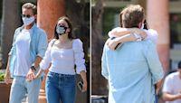 Sophia Bush holds hands with new love interest Grant Hughes