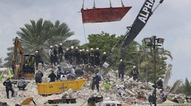 美國邁阿密大樓倒塌97死 結束遺體搜尋行動