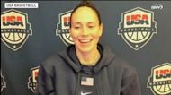 Sue Bird reacts to being selected as a Team USA flag bearer for the 2021 Olympics