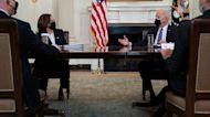 Biden taps VP Harris to lead border talks