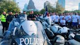 Austin police officers participate in Special Olympics Texas Torch Run