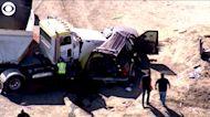 WEB EXTRA: California Crash Kills At Least 15 People