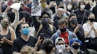 George Floyd protests: Police, demonstrators clash nationwide