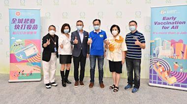 【疫苗接種】外展隊到TVB電視城為280名職員接種疫苗 聶德權到場視察打氣 - 香港經濟日報 - TOPick - 新聞 - 社會