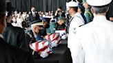 Moon repeats call to end Korean War during joint remains repatriation ceremony in Hawaii