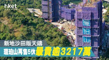 沙田瓏珀山再售5伙 平台特色戶呎價2.6萬成交 - 香港經濟日報 - 地產站 - 新盤消息 - 新盤新聞