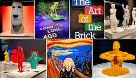 LEGO exhibit features 100+ sculptures at California Science Center