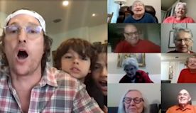 Matthew McConaughey Played Virtual Bingo With a Senior Care Home, and Wow, My Heart