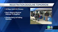 Tuesday is last day to register to vote in California primary