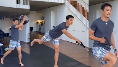 入行逾20年周身傷患 吳彥祖搵教練幫拖練肌肉