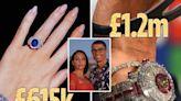 Ronaldo & Rodriguez's £2.6m jewellery collection, like his £1.2m diamond watch