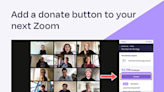 Pledge Launches Donations App Integrated with Zoom to Add a Donate Button and Transform Any Zoom Meeting Into a Virtual Fundraiser
