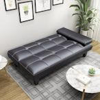 簡單 小型皮沙發床客廳閑魚咸魚二手家具清倉免運費椅辦公陽臺小戶型簡易解壓 簡約
