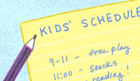 5 Realistic Daily Schedules for Kids, From Ages 0 to 11