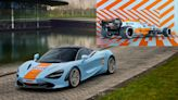 McLaren dresses in Gulf livery, reveals 720S and F1 car in orange and blue
