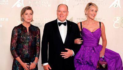 Sharon Stone, premiada en Mónaco en una gala de lujo para recaudar fondos por el planeta
