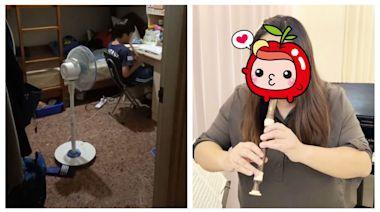 「20支一起吹!」線上直笛課逼瘋台北媽 高雄長髮老師卻吹出家長美夢 | 蘋果新聞網 | 蘋果日報