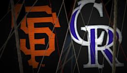 Giants vs. Rockies Highlights