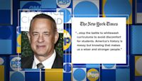 Tom Hanks' Tulsa Race Massacre NYT Op Ed receives kudos and praise