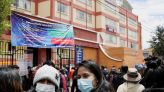 Five Bolivian students killed in fall after balcony railing collapse