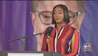 Mayoral Candidate Karen Bass Holds Event In Downtown Los Angeles