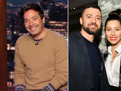 Jimmy Fallon Says Justin Timberlake's Christmas Gift Will Be a 'Binky for the New Baby': 'So Cute'