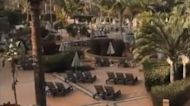 Coronavirus Lockdown Continues at Tenerife Hotel