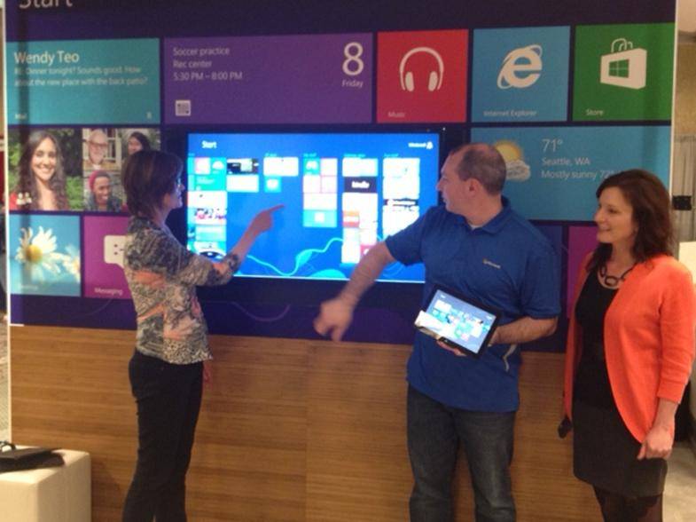 Marsha Threlkeld and Susan Harrell from WiSe spoke with Microsoft's ...