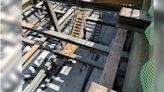台南體3停車場驚傳公安意外 工人墜樓10米深地下室急送醫