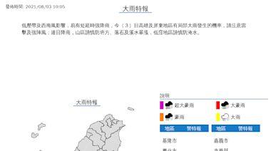 9號颱「盧碧」最快今晚生成 專家曝:西南風致災雨沒完沒了