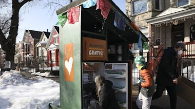 Column: One family's weekly trips to fill Chicago's Love Fridges is a reminder of our capacity to care for one another