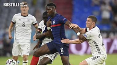 【歐國盃】堅尼評價 普巴踢法國隊表現勝曼聯   體育
