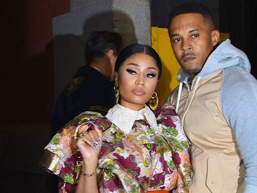 Nicki Minaj and Kenneth Petty Pack on PDA After Welcoming Son -- See the Pics!