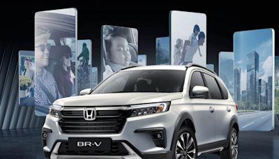 融入 MPV 與 SUV 的全新跨界七人座,Honda BR-V 第二代印尼線上發表!