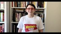 13-year-old theater critic already an industry veteran
