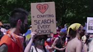 Canadians demand action over residential schools