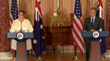 美卿:不會讓澳洲獨自面對中國的經濟脅迫