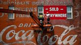Restoration of iconic Albion Coca-Cola mural begins