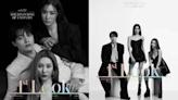當少女時代和Wonder Girls站在一起!Tiffany & 宣美 & 呂珍九合拍黑白寫真超有型~