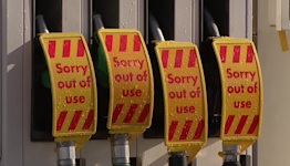 UK puts army on standby as fuel pumps run dry