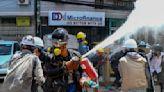 Myanmar crackdown on protests, widely filmed, sparks outrage