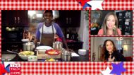 The Talk - 'Food for the 4th': Marcus Samuelsson Makes Fried Chicken with Hot Honey