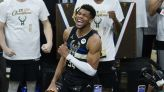 The difference between Giannis Antetokounmpo's NBA champion Bucks and the Nets? A game of inches