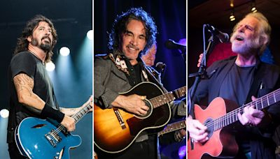 John Oates Unites with Bob Weir, Dave Grohl, Sammy Hagar for Charity Show